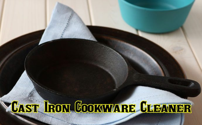 Cast Iron Cookware Cleaner