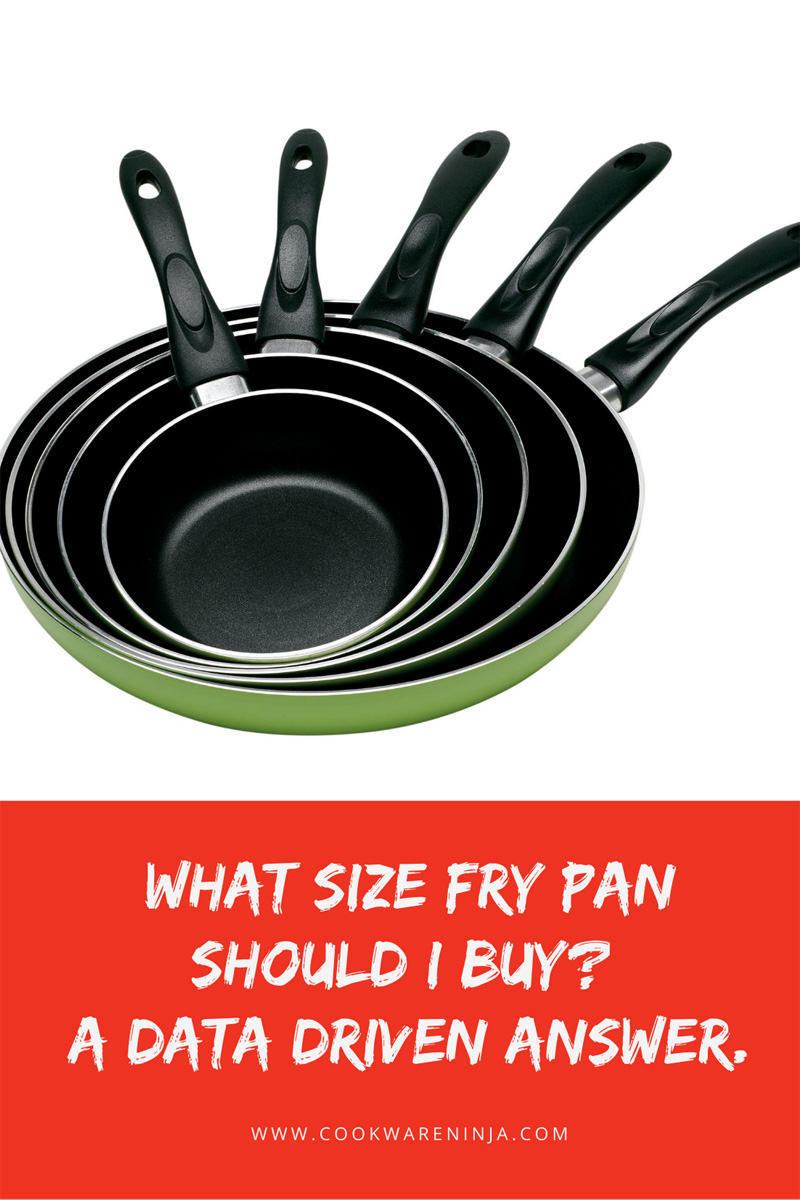 What Size Fry Pan Should I Buy? A Data Driven Answer You Should Know