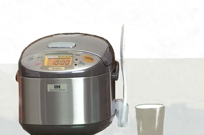Set the Rice Cooker Timer